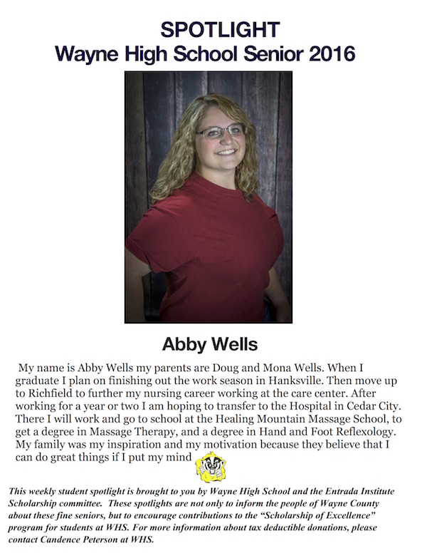 Abby Wells S of E