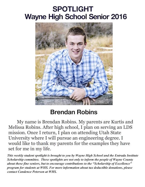 Brendan Robins S of E