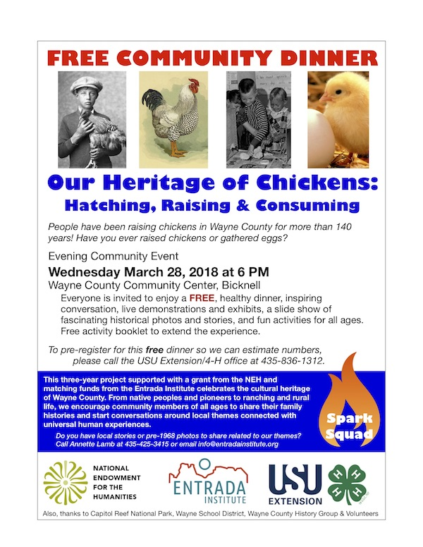 Celebrate Our Heritage of Chickens - Entrada Institute